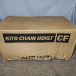 KITO チェーンホイスト CF4