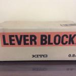 KITO キトー レバーブロック 0.8t 1.5m LB008