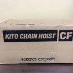 KITO キトー チェーンホイスト 1ton 1トン CF CF4