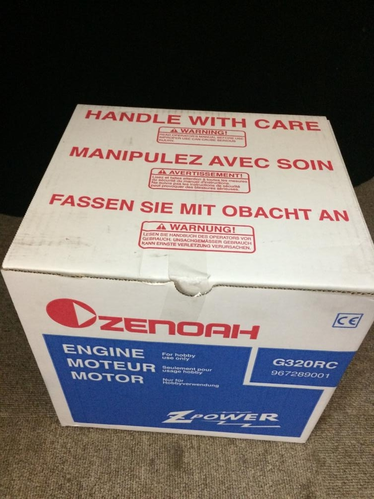 ZENOAH ホビーエンジン G320RC