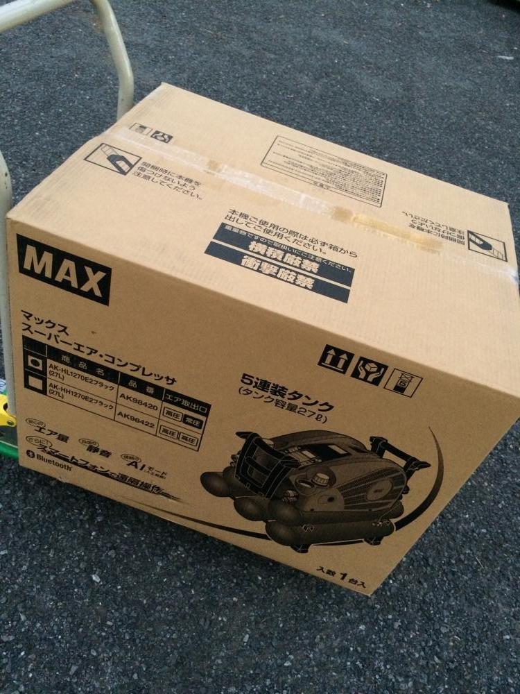 MAX マックス コンプレッサー エアコンプレッサ 27L AK-HL1270E2