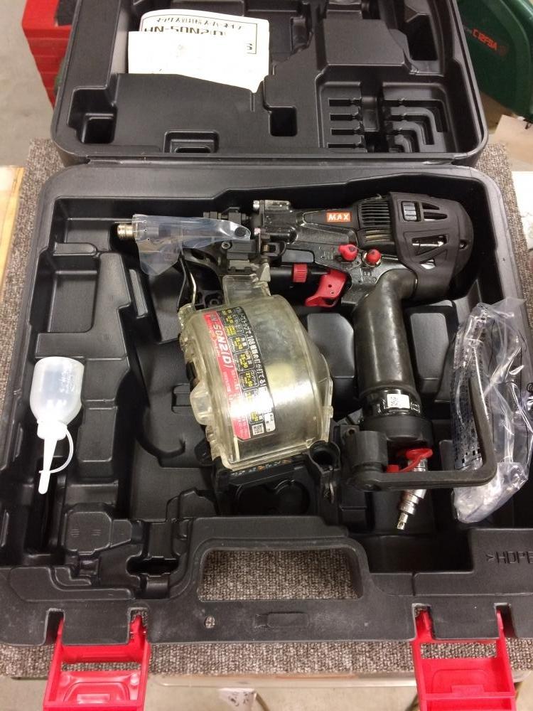マックス 高圧釘打ち機 HN-50N2