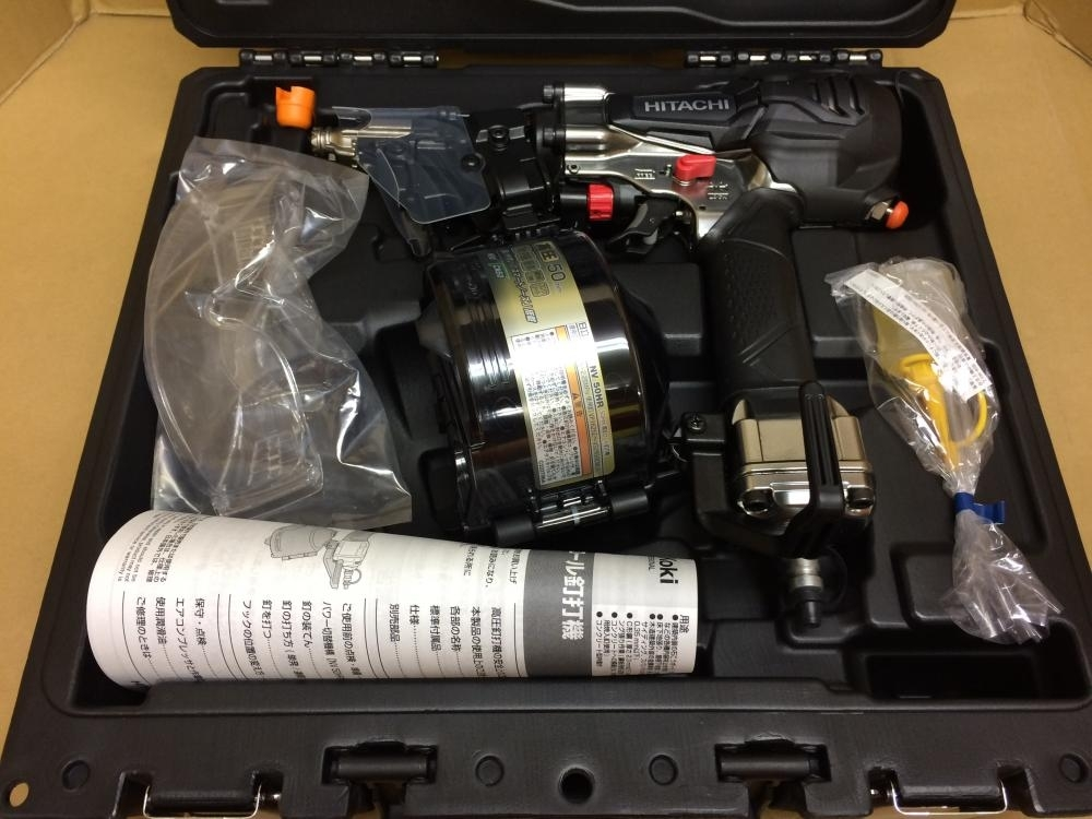 HITACHI 50㎜高圧ロール釘打ち機 NV50HR