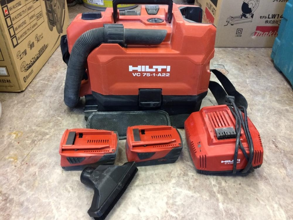 HILTI バキュームクリーナー VC75-1-A22
