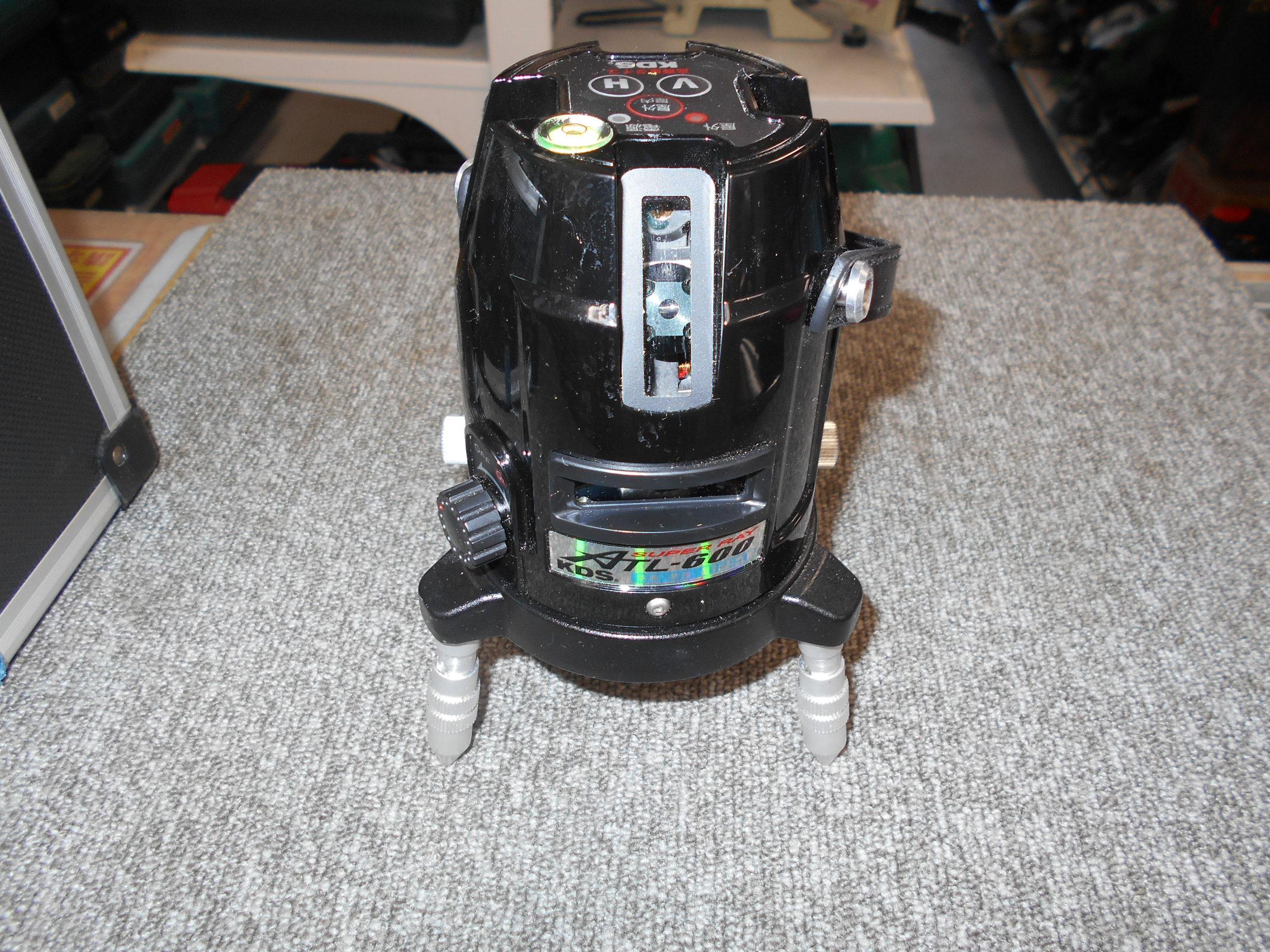 KDS レーザー墨出し器 ATL-600