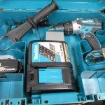 マキタ 充電振動ドリル HP458D