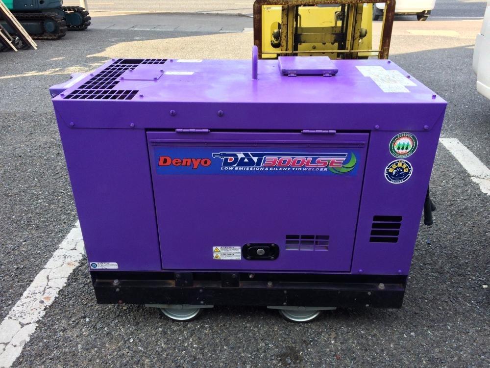 デンヨー 防音型エンジンTIG溶接機 DAT-300LSE