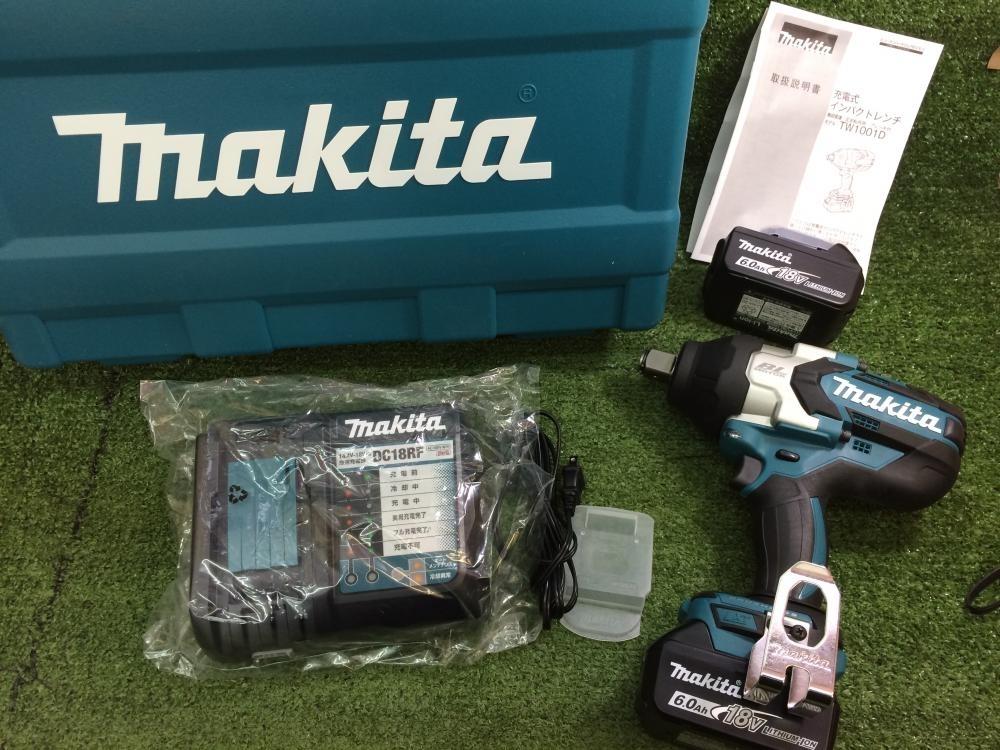 マキタ 充電式インパクトレンチ TW1001DRGX