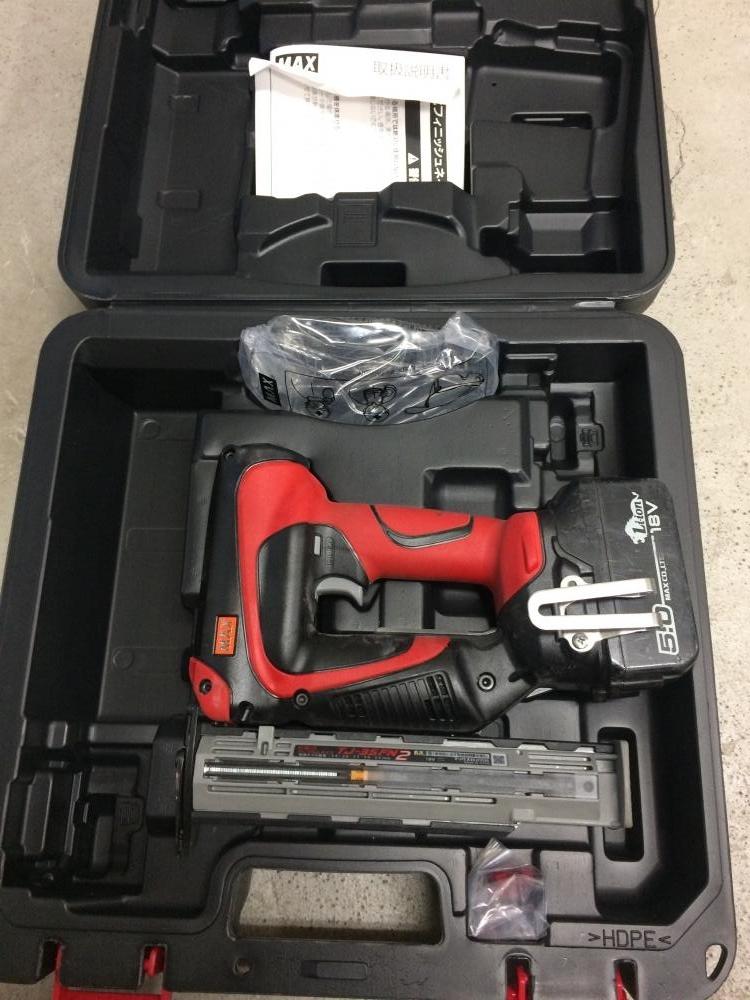 MAX 充電式フィニッシュネイラ TJ-35FN2