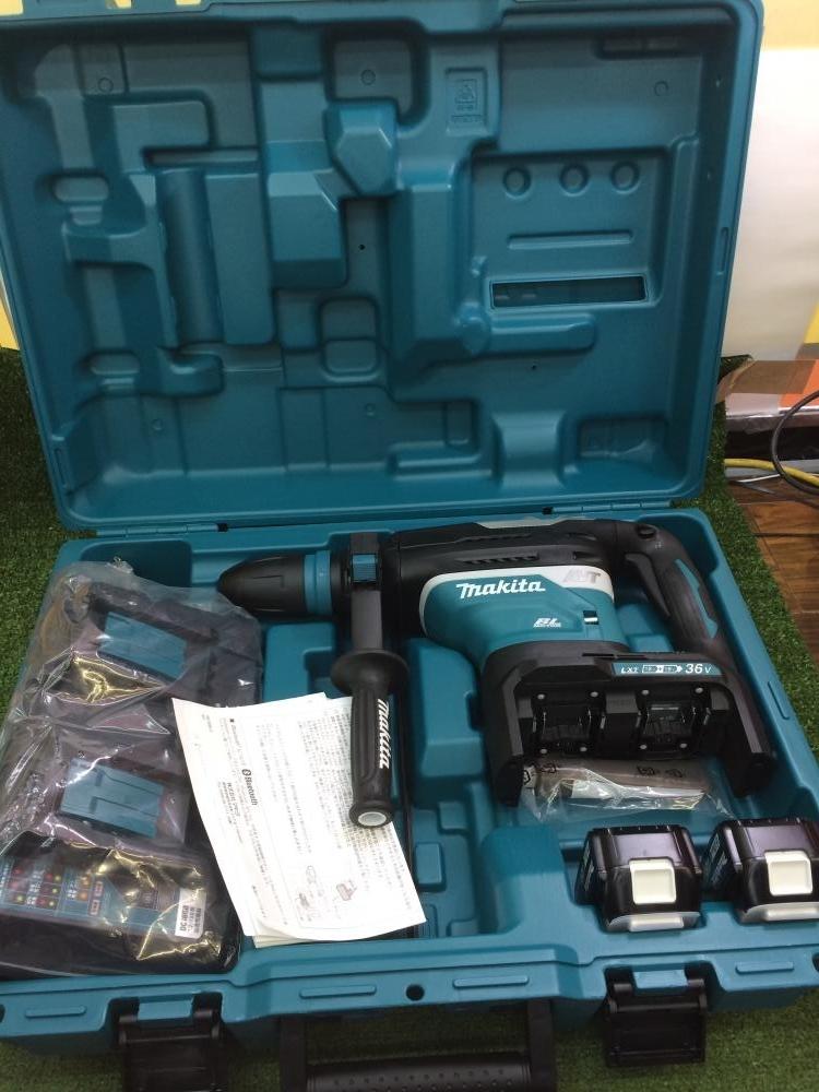 マキタ 40mm充電式ハンマドリル HR400DPG2