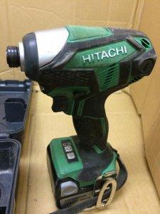 HITACHI インパクトドライバ WH14DKL