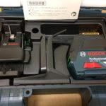 ボッシュ ダイレクトグリーンレーザー墨出し器 クラス2レーザー GCL2-15G