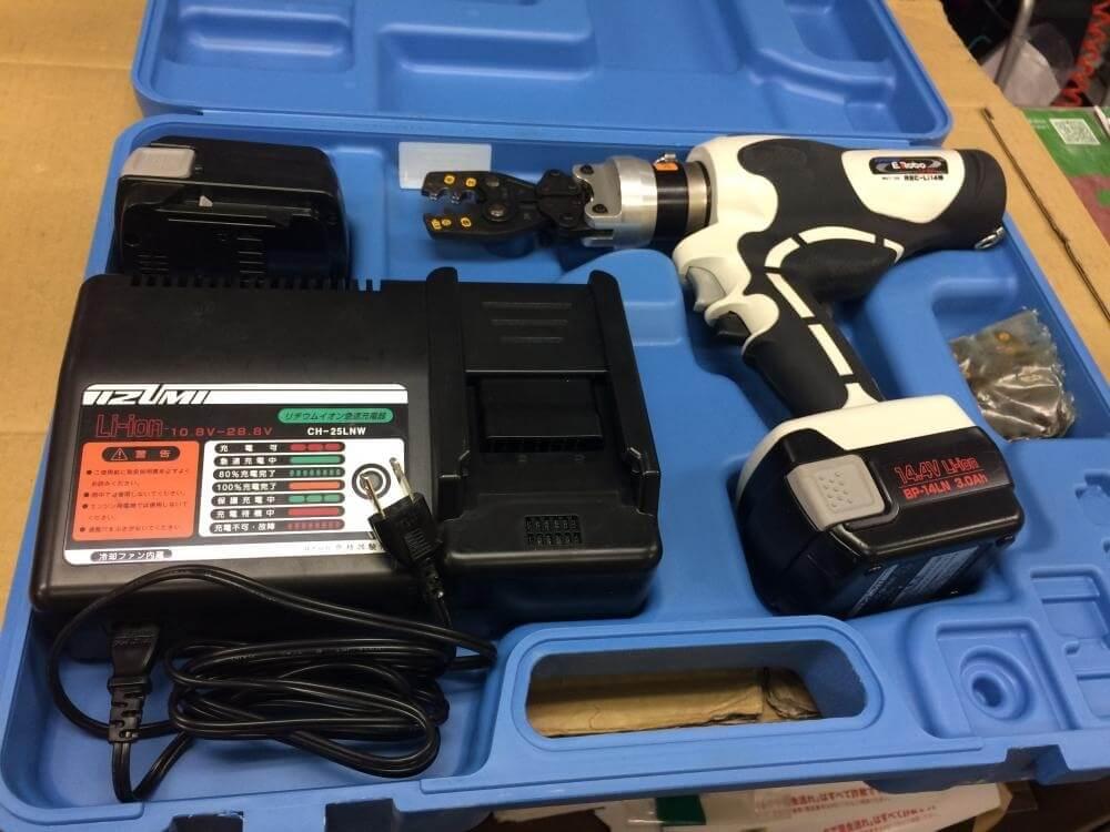 泉精器製作所 充電油圧式多機能工具 REC-Li14M