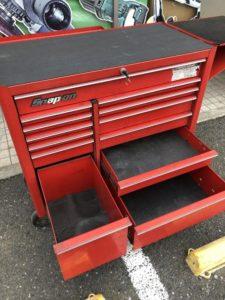 スナップオン Snap-on ロールキャビネット ロールキャブ 工具箱 KRA4813 サイドテーブル付き