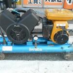 アネスト岩田 エンジンコンプレッサー SUE-222PB