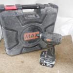 MAX 充電式ブラシレスインパクトドライバ PJ-ID143-B2C