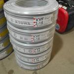 KYOWA 協和 VVFケーブル 3×1.6 5巻きセット