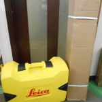 Leica ライカ 自動整準レーザーレベル 回転レーザーレベル 受光器・三脚付 RUGBY610