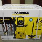 KARCHER ケルヒャー 高圧洗浄機 家庭用 K4 サイレント