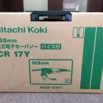 日立工機 日立 HITACHI 電子セーバソー セーバソー バイス付 CR17Y
