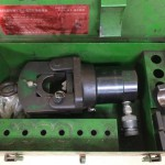 FBK 新中央工業 富士物産 油圧式 端子圧着工具 ラムシリンダー 325型 325