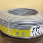 協和電線 協和 KYOWA VVFケーブル ケーブル 3×2.0mm 3芯 2mm