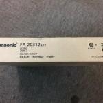Panasonic パナソニック コンパクトスクエア B級BL型 電池内蔵型 片面型 FA20312LE1 FA20312 LE1
