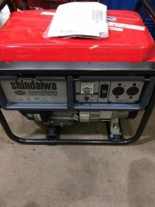 新ダイワ ShinDaiwa 発電機 EGR2600