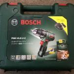 BOSCH ボッシュ 10.8V リチウムイオン バッテリー振動ドライバードリル PSB10.8LI-2