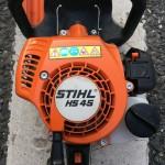 スチール エンジンヘッジトリマ HS45