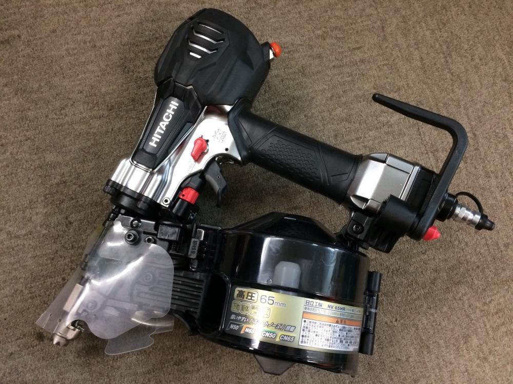 日立工機 HITACHI 65mm高圧ロール釘打機 高圧ロール釘打機 本体のみ NV65HR