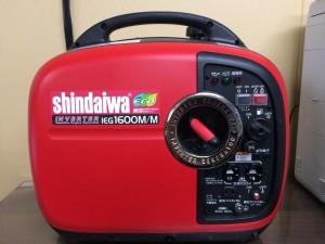 新ダイワ shindaiwa インバータ発電機(ガソリンエンジン) iEG1600M-Y IEG1600M