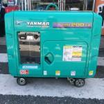 ヤンマー ディーゼル発電機 YDG200VS-5E