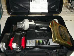 Panasonic ディスクグラインダ EZ46A2
