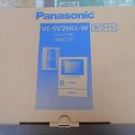 パナソニック テレビドアホン VL-SV26KL-W