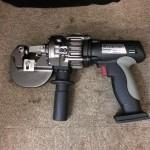 IKURA コードレスパンチャー 充電油圧式パンチャー IS-MP15LX