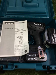 マキタ 4モードインパクトドライバ TP141DRGXB