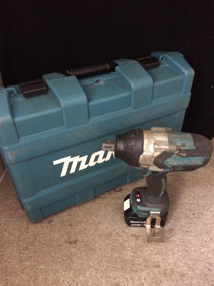 makita 充電式インパクトレンチ TW1001DRGX