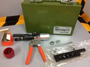 カクダイ 油圧式ツバ出し工具 6001