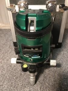 KDS グリーンレーザー墨出し器 ALT-55G
