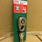KTC コンパクトショートフレックスラチェットハンドル BRC3FS 80mm