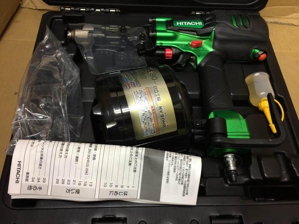 MAX 90mm高圧ロール釘打ち機 NV90HR