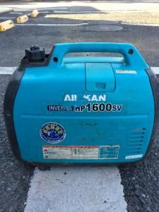AIRMAN 北越工業 インバータ発電機 HP1600SV