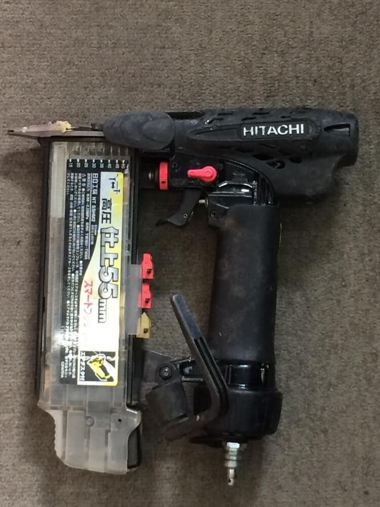 日立工機 高圧仕上釘打機 NT55HM2