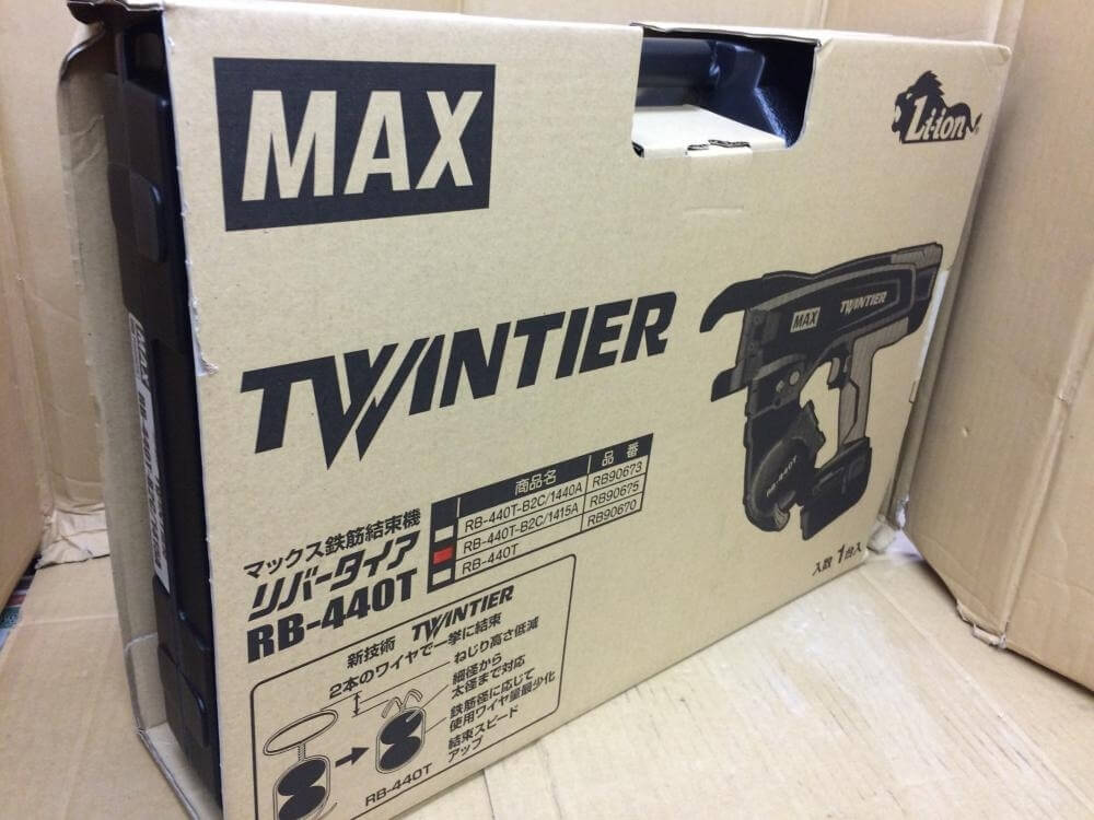 MAX 鉄筋結束機 リバータイヤ RB-440T-B2C/1415A