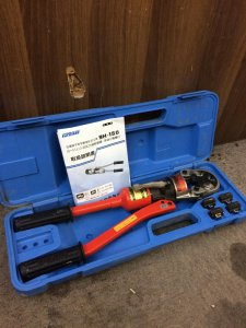 IZUMI 泉精器 イズミ 手動油圧式圧着工具 9H-150
