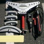 IZUMI 手動油圧ポンプ/ベンダー/カッターセット HP-700S/PB-10N/SP-55A