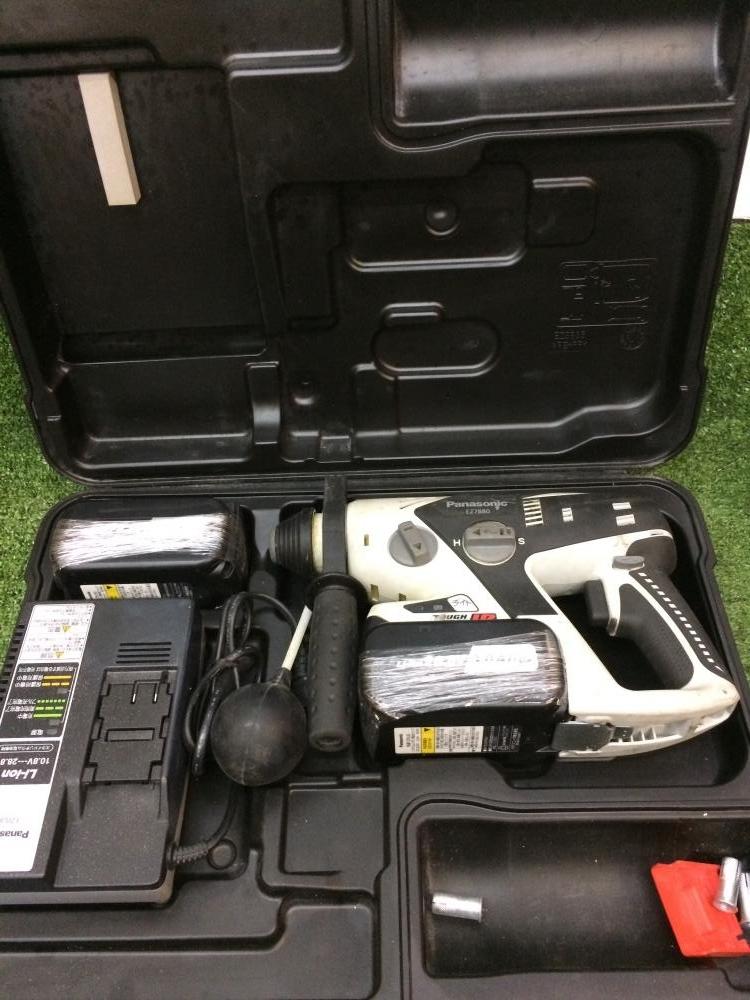 Panasonic 充電式ハンマドリル EZ7880LZ2S-B