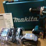 マキタ 充電式ドライバドリル DF484DRGX 18V 6.0Ah バッテリ2個 18V 6.0Ah