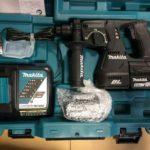 マキタ 24mm充電式ハンマドリル HR244DRGXB